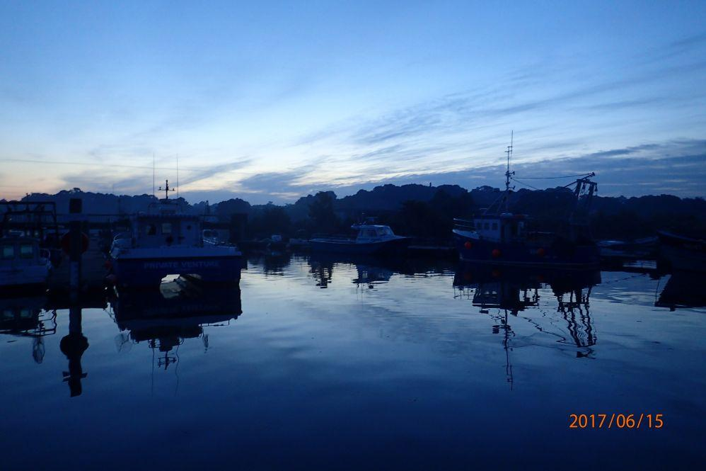 Morgenstimmung Lymington